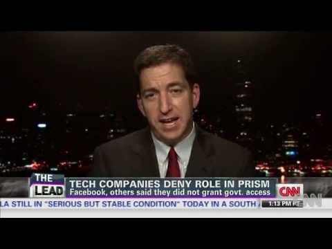 Glenn Greenwald Discusses NSA Leaker, Boundless Informant, Zuckerberg