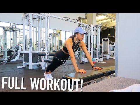 Full Gym Workout & Friend From Dallas Visits Me!