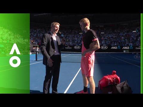 Kyle Edmund on court interview (QF) | Australian Open 2018