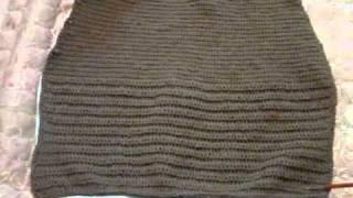 13а. Как связать юбку, демонстрация готовая деталь.avi