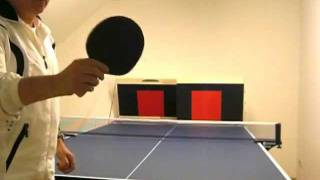 """""""Long Pimples"""" special training - ping pong"""