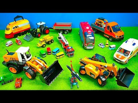 eisenbahn,ambulance,traktor,-bagger,-dumper,-spielzeug-für-kinder,-spiel-&-spaß,bruder,playmobil