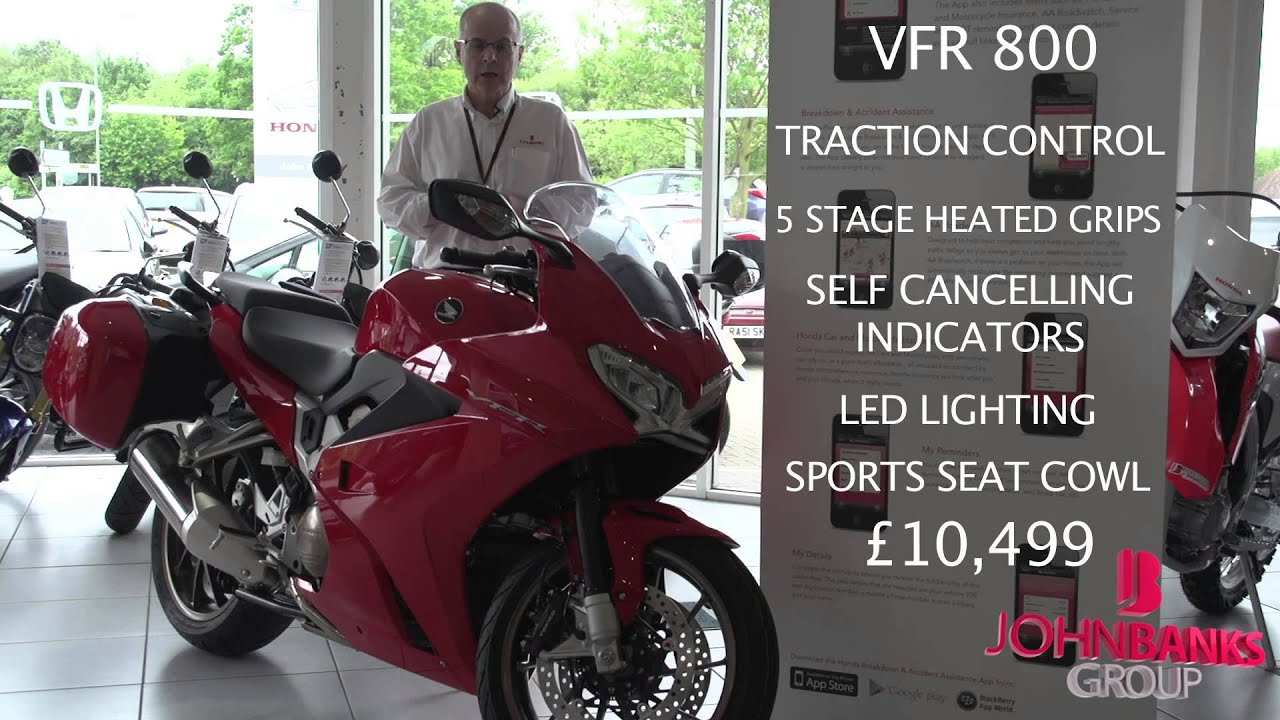 2014 Honda Vfr800f Information John Banks Motorcycles Youtube