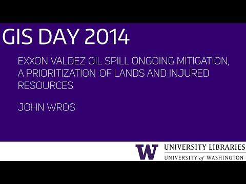 Exxon Valdez Oil Spill Ongoing Mitigation – UW GIS Day 2014 Lightning Talks