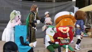 2017/04/16 立川フラフェスティバル での キャラクター フラダンス「憧...