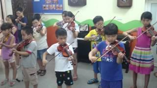 Tập Violin bài Twinkle Twinkle Little Star - Trung Tâm Music Talent
