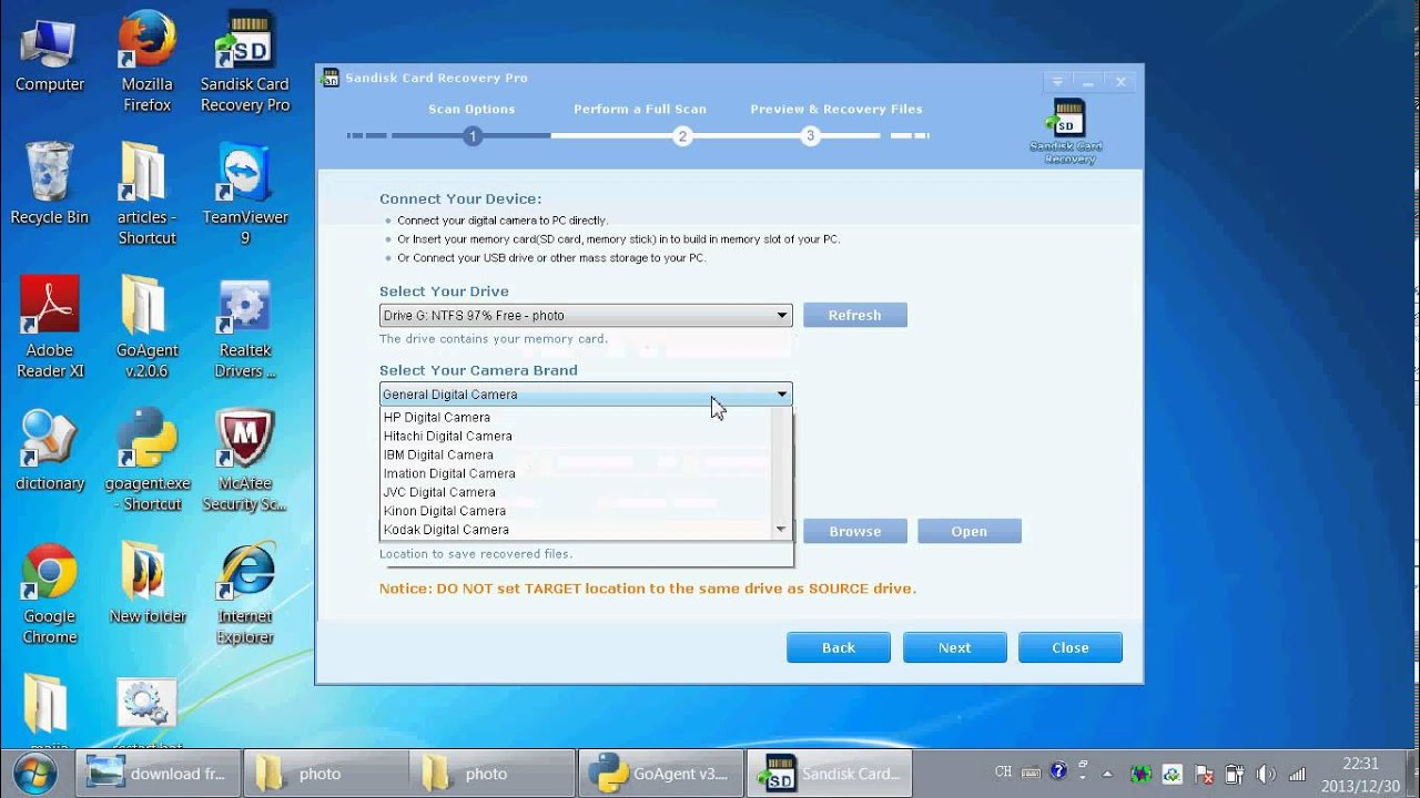 Download free sandisk data recovery software to recover lost.