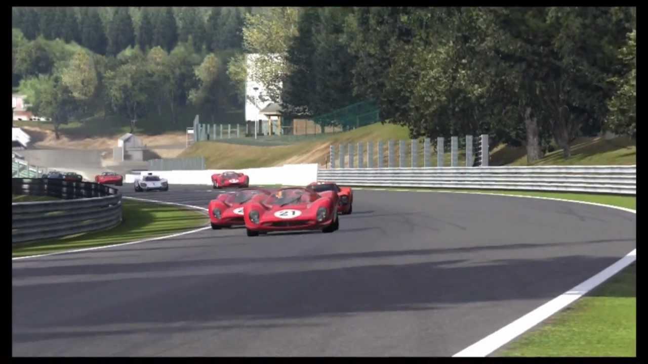 Gbrc Classic Race Cars Spa Youtube