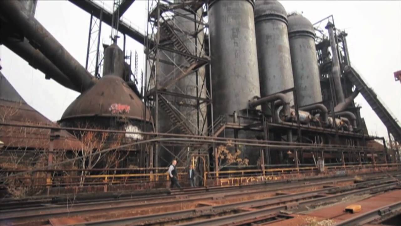 Carrie Furnace on the Mon near Rankin, Pennsylvania - YouTube