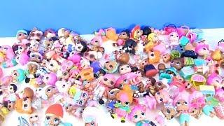 моя коллекция Куклы Лол в одном мультике LOl Surprise Families Босс Молокосос и Шопкинс