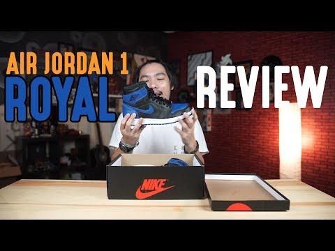 Air Jordan 1 Blue Royal Review (Bahasa Indonesia)