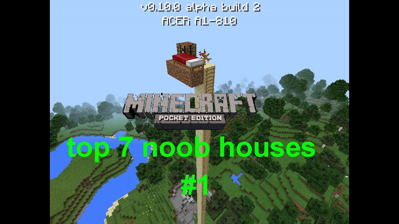 how to find your house in minecraft pe flat world