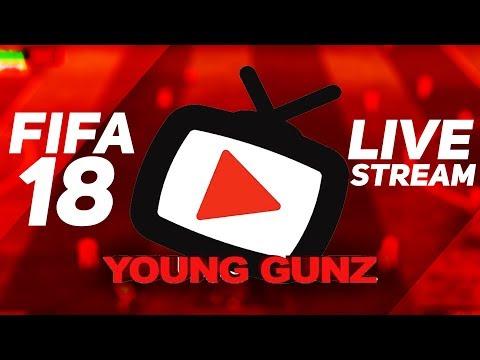 AFTV Young Gunz LIVE: FIFA 18 LIVESTREAM!!! | AFTV Young Gunz