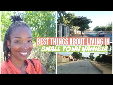 Best Things About Living In Small Town Namibia | Tour | 🐍| A
