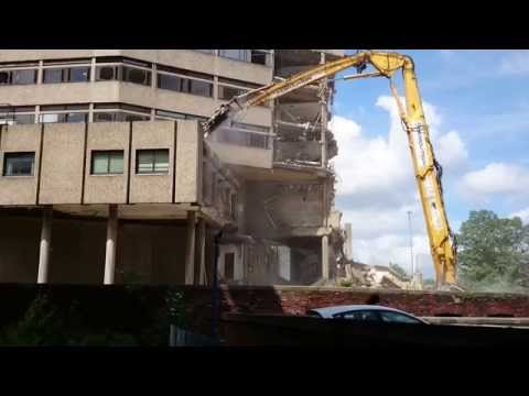 Yorkshire Post Building Demolition #5