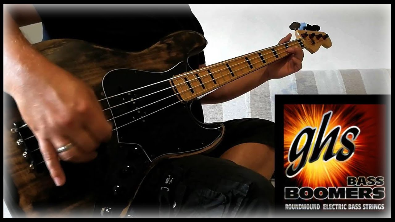 Ghs Bass Boomers Roundwound Bass Strings Youtube