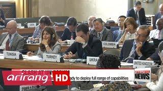 U.S. and North Korea clash at UN forum