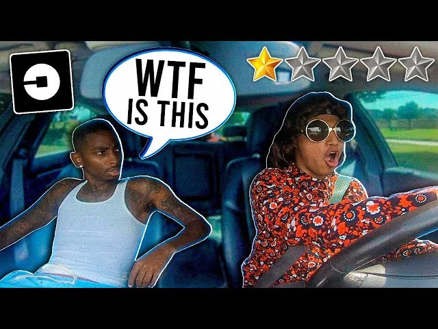 PICKED UP FUNNYMIKE UP In An UBER UNDER DISGUISE!!! *Went CRAZY*