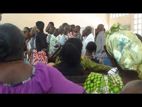 Messe à Notre Dame d'Afrique Limete Kinshasa
