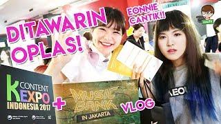 Video [Coverage] KCONTENT Expo + MUSICBANK Jakarta 2017 VLOG (Konten KOREA : KERENN dan SERU BANGETT!!) download MP3, 3GP, MP4, WEBM, AVI, FLV Desember 2017