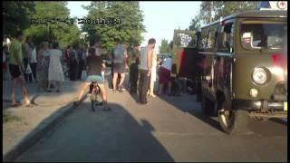 ДТП при участии мопеда и BMW 8.07.2011 Васильков