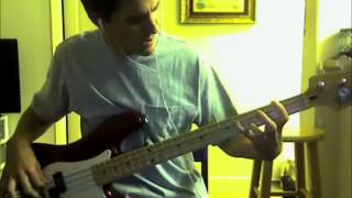 "Van Halen ""Atomic Punk"" Bass Cover"