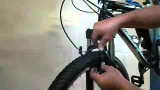 Výměna brzdových špalků na kole