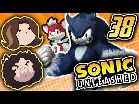 Sonic Unleashed: Scary Cartoons - PART 38 - Game Grumps