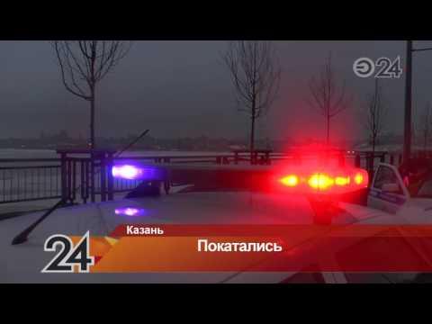 В Казани мужчина угнал автомобиль из автосервиса и катался по городу