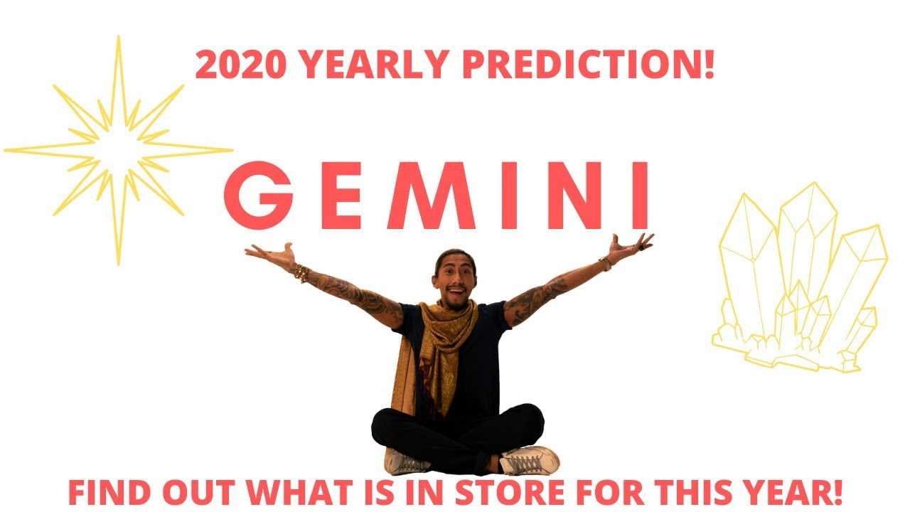 "A Year Of Happiness gemini - ""you get happiness and love"" 2020 new year prediction"