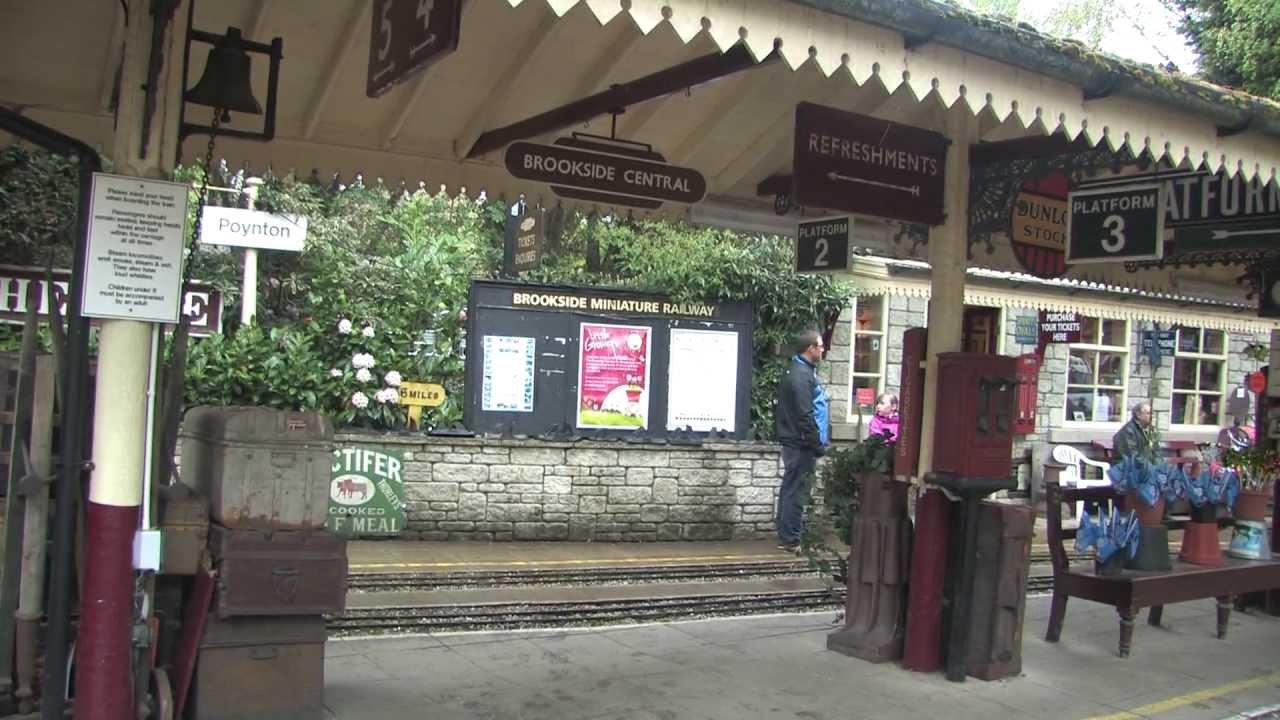 Brookside Miniature Railway May 2013