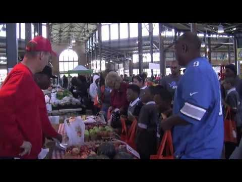 Meet-Up and Eat-Up with Rodney Peete, Living for the City