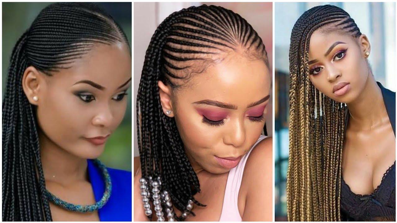 New Braided Hairstyles Compilation 2020 Latest Cornrows Tutorials Braids Youtube