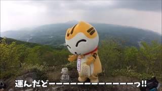 飯南町を…い~にゃんを愛する方と、琴引山(1014m)へい~にゃん石像を山頂まで運んで設置しました!長く険しい道のりでしたが、仲間をい~にゃ...