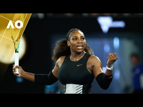 Serena Williams on court interview  (2R) | Australian Open 2017