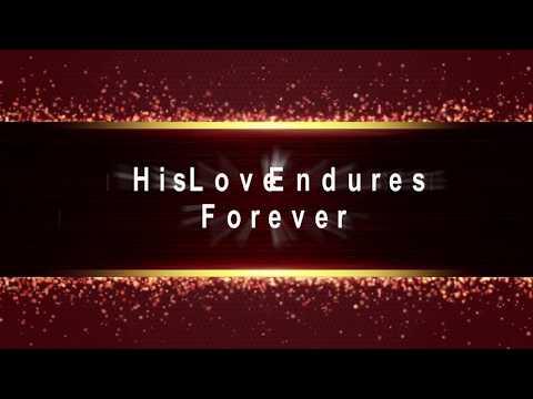 Joel Hanson - His Love Endures Forever Lyrics