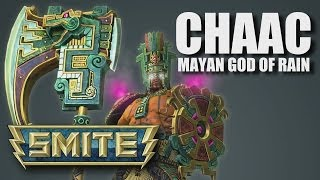 SMITE: Chaac Gameplay and Overview (Conquest Duo Lane Gameplay)