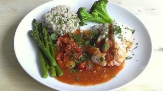 Healthy & Delicious Steamed Fish With Tomato Sauce How To Cook Food