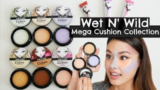 NEW Wet n' Wild Mega Cushion Collection First Impressions, Demo, and Review | The Beauty Breakdown