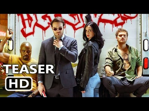 Thumbnail: THE DEFENDERS Official Trailer TEASER (2017) Marvel, Netflix TV Show HD