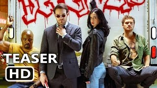 THE DEFENDERS Official Trailer TEASER (2017) Marvel, Netflix TV Show HD