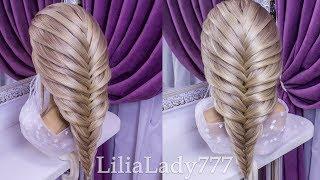Коса Рыбий Хвост.Легкий Способ. Amazing Hairstyles Compilation 2018
