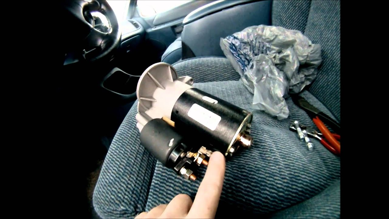 medium resolution of ford explorer starter replacement 1 of 3