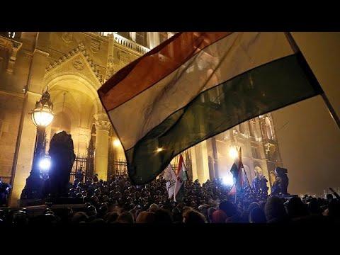 Reforma laboral e na justiça da Hungria agrava protestos