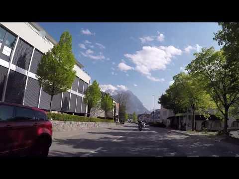 Liechtenstein Vaduz Centre ville, Gopro / Liechtenstein Vaduz Downtown, Gopro