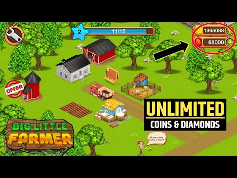 How to Hack #Big Little Farmer Game Offline Free Unlimited Coins And Gems