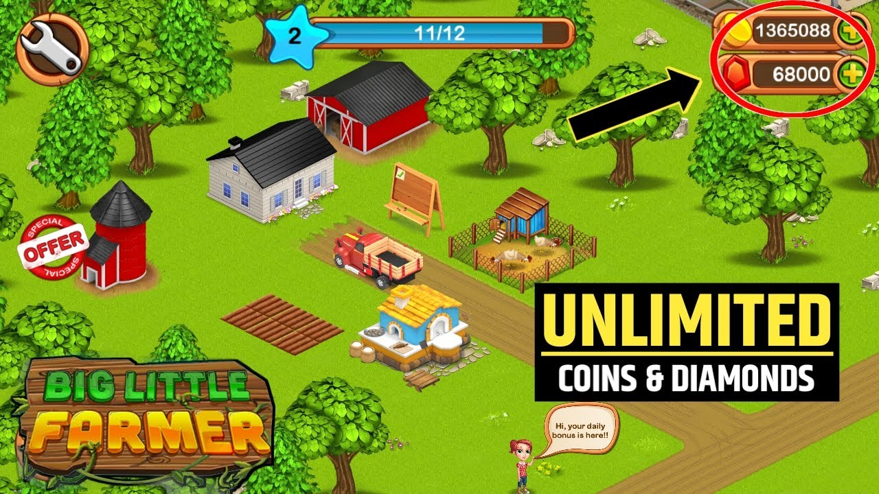 Big little farmer offline business simulation for Android Phone