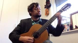 Carmina Burana -  Fortuna Imperatrix mundi - Fortune Plango Vulnera Classical Guitar
