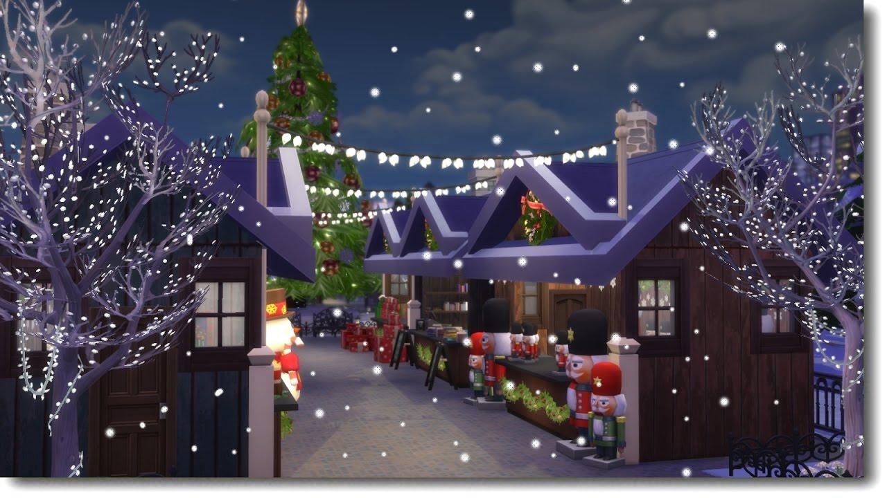 Sims  Fairy Tree House Speed Build