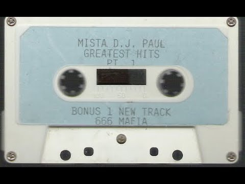 MISTA DJ PAUL GREATEST HITS PART 1 FULL TAPE 1994 TRIPLE 6 MAFIA